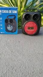 Caixinha de som Bluetooth FM