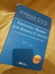 Código civil e legislação civil  27a edição - Livro