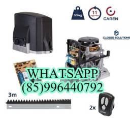 Motor pra portão automatico  549,00 instalado