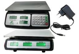Balança Eletrônica Digital 40kg Comercial Balcão Com Bateria