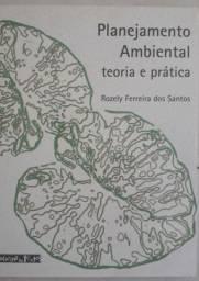 Livro Planejamento Ambiental teoria e prática