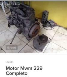Motor mwm 229 Volkswagen