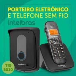 599,00 reais instalado -Interfone sem fios Intelbras