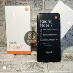 Xiaomi redmi note 7 4/64GB 10x 115.00 no cartão de crédito. (lacrado C/garantia)