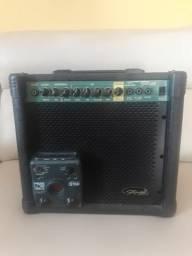 Amplificador Stagg 20 GA DR e pedaleira Zoom G1NK signature Kiko Loureiro edição limitada