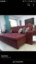 Mega oferta de sofá retrátil e reclinavel 3,50 por 1,80