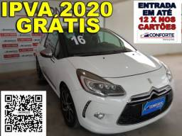 CitroËn ds3 2016 1.6 thp sport chic 16v gasolina 2p manual - 2016