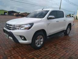 Toyota hilux cd srv 4x2 2.7 flex at 17-17 - 2017