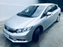 Honda Civic LXR c/ GNV Injetado - 2014