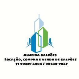 Aluguel de galpão/ armazém/ depósito/ barracão de 200m² à 20.000m² em Lauro de Freitas