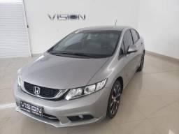 Civic Sedan LXR 2.0 Flexone 16V Aut. 4p - 2015