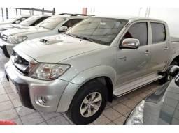Toyota Hilux 3.0 srv 4x4 cd 16v turbo intercooler diesel 4p aut. 2009 Prata cod0002 - 2009