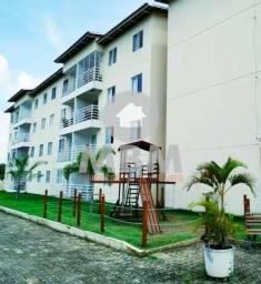 Vendo apartamento no Eusébio com 63,11 m², 3 quartos e 2 vagas. 175.000,00