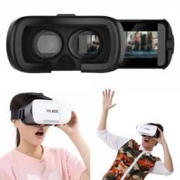 Óculos Vr Box 2.0 Realidade Virtual 3d Android + Controle