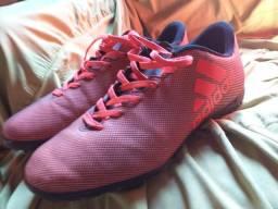 Vendo ou troco chuteira Adidas society zerada N38