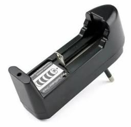 Carregador de bateria de lanterna do tipo 18650