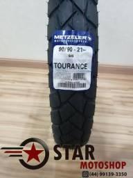 Pneu Metzeler Tourance 90/90-21 XT 660 - NOVO - Queima de estoque