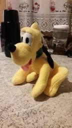 Cachorro pluto do Mickey pelúcia 25 cm novo imperdível