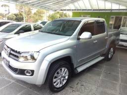 Vw - Volkswagen Amarok CD 4x4 High Top de Linha Turbo Diesel Automatica 180cc com 89Mkm - 2012