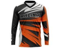 Camisa de motocross trilha personalizada