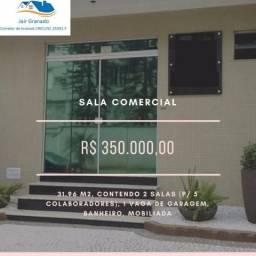 Oportunidade Sala Comercial mobiliada no Centro de Balneário Camboriú