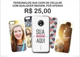 Personalização de capas de celular