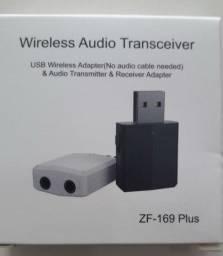 Transmissor E Receptor De Áudio Bluetooth 5.0