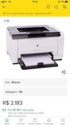 Vendo Impressora laser colorida HP LaserJet Pro CP1025