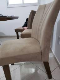 Cadeiras usadas com detelhes
