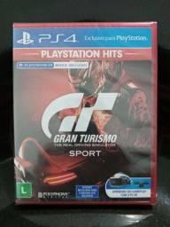 Jogo PS4 Gran turismo sport novo lacrado