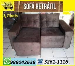 Compre e Receba No Mesmo Dia!!Sofa Retratil Novo Super Barato Com Frete Gratis!!