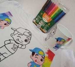 Camiseta e caneca