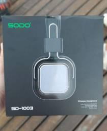 Fone de ouvido bluetooth Sem fio - Marca SODO SD1003 c/ garantia