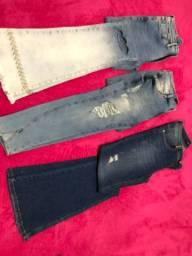 Calças Jeans diversas