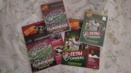 2 Dvds Fluminense Tri E Tetra Campeão 2010/2012 + Revistas