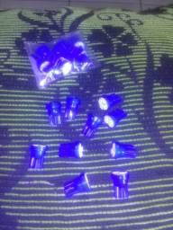 LED's Azul para motos!! Show