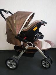 Carrinho 3 rodas e Bebê conforto  Dardara