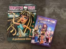 Kit Monster High DVD + livro