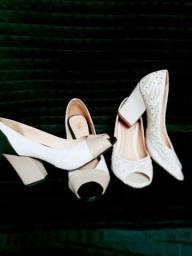 Sapatos em Salto Bloco