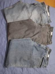 Calças masculinas tam. 54, semi novas.