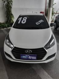 Hyundai Hb20 1.0 Confort 2018 IPVA 2021 PAGO !!!