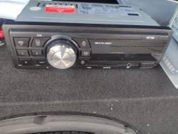 Radio automotivo Multilaser One USB Radio FM/AM