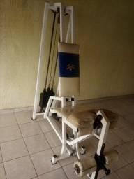 Cadeira extensora - aparelho de musculação Pernas
