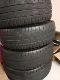 4 pneus 185/60r15 usados