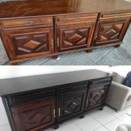 Restauração e pinturas ,madeiras , ferro  e etc .