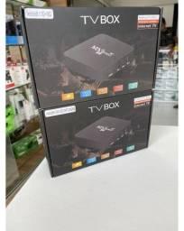 Aparelho Tv box com 4gb de Ram e 32gb de Memória Interna-(Lojas Wiki)