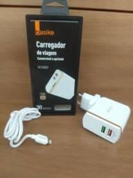 CARREGADOR IPHONE TURBO 30W + CABO DE DADOS