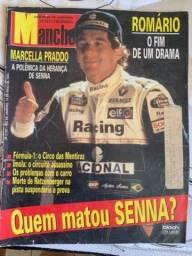 Ayrton Senna Revista manchete