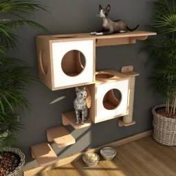 Nicho Arranhador para Gatos