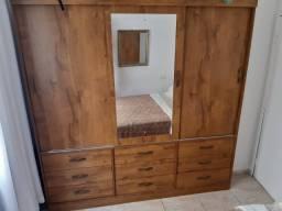 Guarda-roupa Casal Turim 3 portas 1 espelho